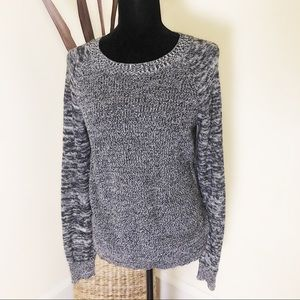 MOSSIMO Light weight black and white sweater
